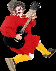 """Barry """"Grandma"""" Lubin beim Weihnachtscircus in Aachen"""