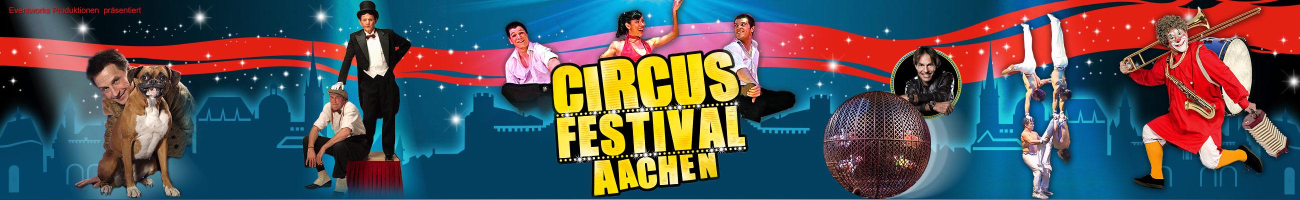 Circus Festival Aachen – der Weihnachtscircus in Aachen